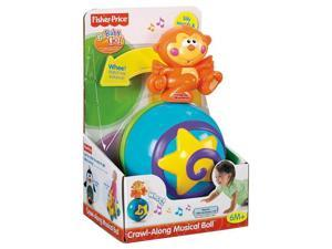 Fisher-Price Go Baby Go Crawl-Along Musical Ball