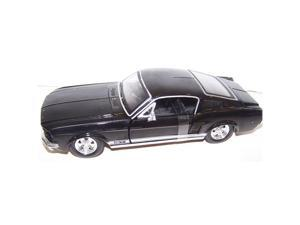 1967 Ford Mustang Gt Diecast by Maisto - 1:24 Scale, Black