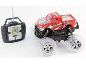 1:16 Scale Full Function 4WD, 360 Degree Turning, Flashing Lights, Music, Rechargeable batteries RC Monster truck RTR RC Truck