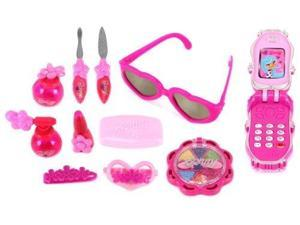 Butterfly Bonny 8301 Pretend Play Toy Fashion Beauty Set w/ Assorted Hair and Beauty Accessories