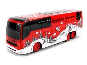 Hot Power Speed Bus Electric RC Bus Car Ready To Run RTR w/ 360 Degree Spinning Action, Rise/Lower Action