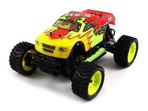 EXM-16 Electric RC Truck 1:16 Brushed Himoto Racing 4WD RTR (Colors May Vary)