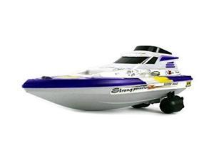 Velocity Toys Surf King Yacht Remote Control RC Speed Boat Full Function Ready To Run, Perfect for Pools, Ponds, Lakes, Rivers, etc