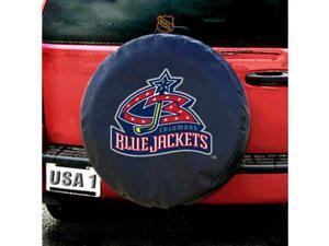 Columbus Blue Jackets NHL Spare Tire Cover (Black)