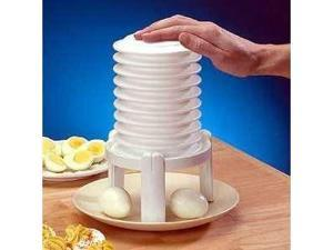 Eggstractor with Bonus Egg Slicer (It peels your eggs for you!)