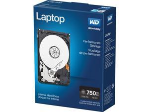 "WD 750GB Black 2.5"" Laptop Performance Hard Drive"