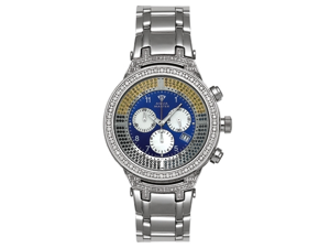 Aqua Master Men's Power Canary Diamond Watch with Diamond Bezel, 4.25 ctw