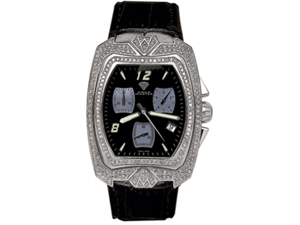 Aqua Master Men's Aqua-Diamond Watch with Full Diamond Case, 4.00 ctw
