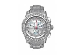 Aqua Master Men's Masterpiece Diamond Watch with Diamond Bezel and 6-Link Diamond Bracelet, 13.00 ctw