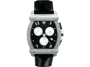 Aqua Master Men's Diamond Watch with Half Full Diamond Case, 2.50 ctw