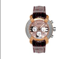 Aqua Master Men's 96 Model Diamond Watch with Leather Strap