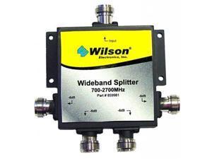 Wilson Electronics 859981 4-Way Signal Splitter