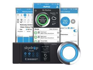 SkyDrop 8 Zone Expandable Wifi-Enabled Smart Sprinkler Controller -