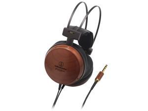 Audio-Technica Bamboo ATH-W1000Z 6.3mm Connector Audiophile Closed-back Dynamic Wooden Headphones
