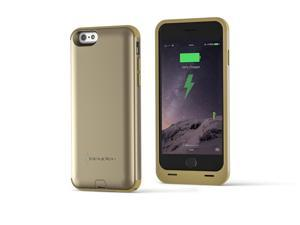 Spyder Digital Research Battery Charger Case for iPhone 6 - Retail Packaging - Champagne