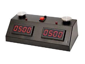ZMart Fun ZMF-II Digital Chess Clock - Red LED Display / Black Case
