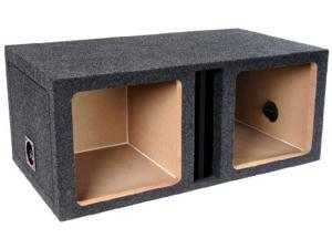 ATREND TL-12Sv Atrend Series 12-Inch Single Slammer Vented Enclosure With Bed Liner Finish
