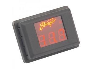 Stinger SVMR Voltage Gauge (Red Display)