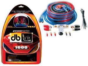 DB Link PK4Z 4 Gauge Power Series Amplifier Installation Kit