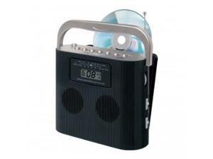 JENSEN  CD-470BK Portable Stereo Compact Disc Player with AM/FM Radio