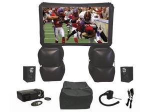 Sima XL-PRO 480p Projector Bundle with 72-Inch Inflatable Screen
