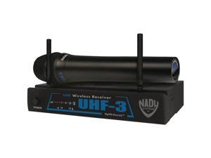 NADY UHF-3HT480.55 Uhf Diversity Receiver with UH-3 Handheld Microphone