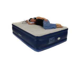 Smart Air Beds Platinum Full Raised Air Bed with Remote Control, Blue BD-1119GT