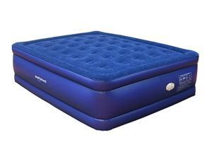 Smart Air Beds Col Beam Flocked Top Queen Raised Air Bed V2 (BD-1224GT)