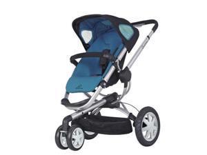 Quinny CV155BFW Buzz 3 Stroller - Blue Scratch