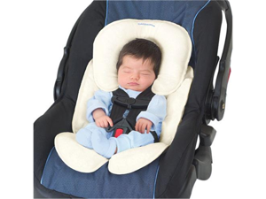 Summer Infant 77510B Summer Infant Snuzzler® Infant Support for Carseat and Strollers - Ivory - Support Baby's Head and Body - Adjustable with Growth - Adjustable with Harness System with Car