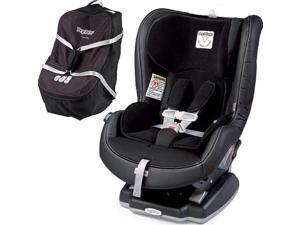 Peg Perego Primo Viaggio Convertible Car Seat - Licorice with Travel Bag