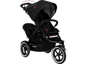 Phil   Teds Navigator Buggy Stroller with Doubles Kit  - Black