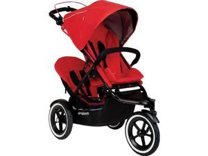 Phil   Teds Navigator Buggy Stroller with Doubles Kit  - Cherry