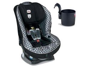Britax Boulevard G4 Convertible Car Seat w Cup Holder  - Sterling