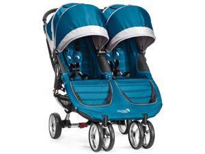Baby Jogger BJ12429 - City Mini Double Stroller - Teal Gray