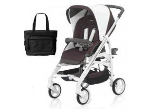 Inglesina - Trilogy Stroller with Car Seat Adapter - Caffe