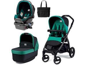 Peg Perego - Book Pop Up Travel System - Aquamarine