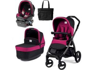 Peg Perego - Book Pop Up Travel System - Fleur