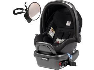 Peg Perego - Primo Viaggio 4-35 Car Seat w  Back Seat Mirror  - Onyx