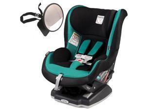 Peg Perego - Primo Viaggio Convertible Car Seat With Back Seat Mirror  - Aquamarine