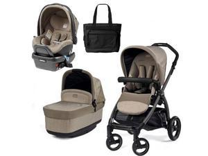 Peg Perego - Book Pop Up Travel System - Cream