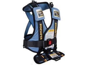 Safe Traffic Systems JD14100BLB - Ride Safer 2 Travel Vest Small - Blue