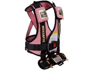 Safe Traffic Systems JD14100PWB - Ride Safer 2 Travel Vest Small - Pink