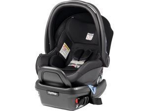 Peg Perego IMPV03US35BL13DX13 - Primo Viaggio 4-35 Car Seat - Licorice - Black Eco-Leather