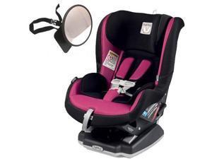 Peg Perego - Primo Viaggio Convertible Car Seat With Back Seat Mirror - Fleur