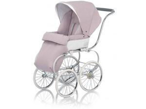 Inglesina CLASS111PES Classica Stroller with Hood and Frame Pesca - Pink White