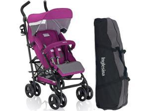Inglesina AG82GOIRS - Trip Stroller with Carrying Bag - Iris  Purple