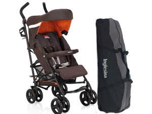 Inglesina AG82GOCAF - Trip Stroller with Carrying Bag - Caffee