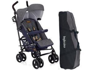 Inglesina AG82GOJNS - Trip Stroller with Carrying Bag - Jeans