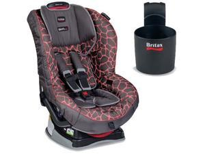 Britax - Marathon G4 1 Convertible Car Seat with Cup Holder - Pink Giraffe